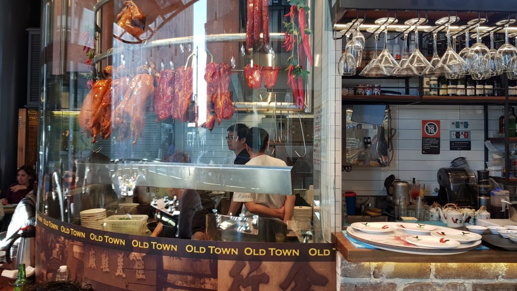Old Town Hong Kong Barangaroo Hanging Meat